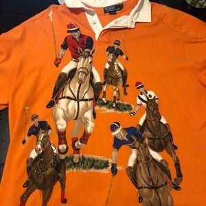 Vintage Polo Ralph Lauren FIVE HORSEMEN Rugby